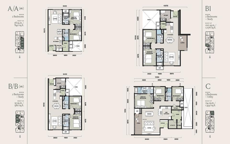 Kami Mont Kiara Floor Plans Klcc Condominium Kuala Lumpur City Condos