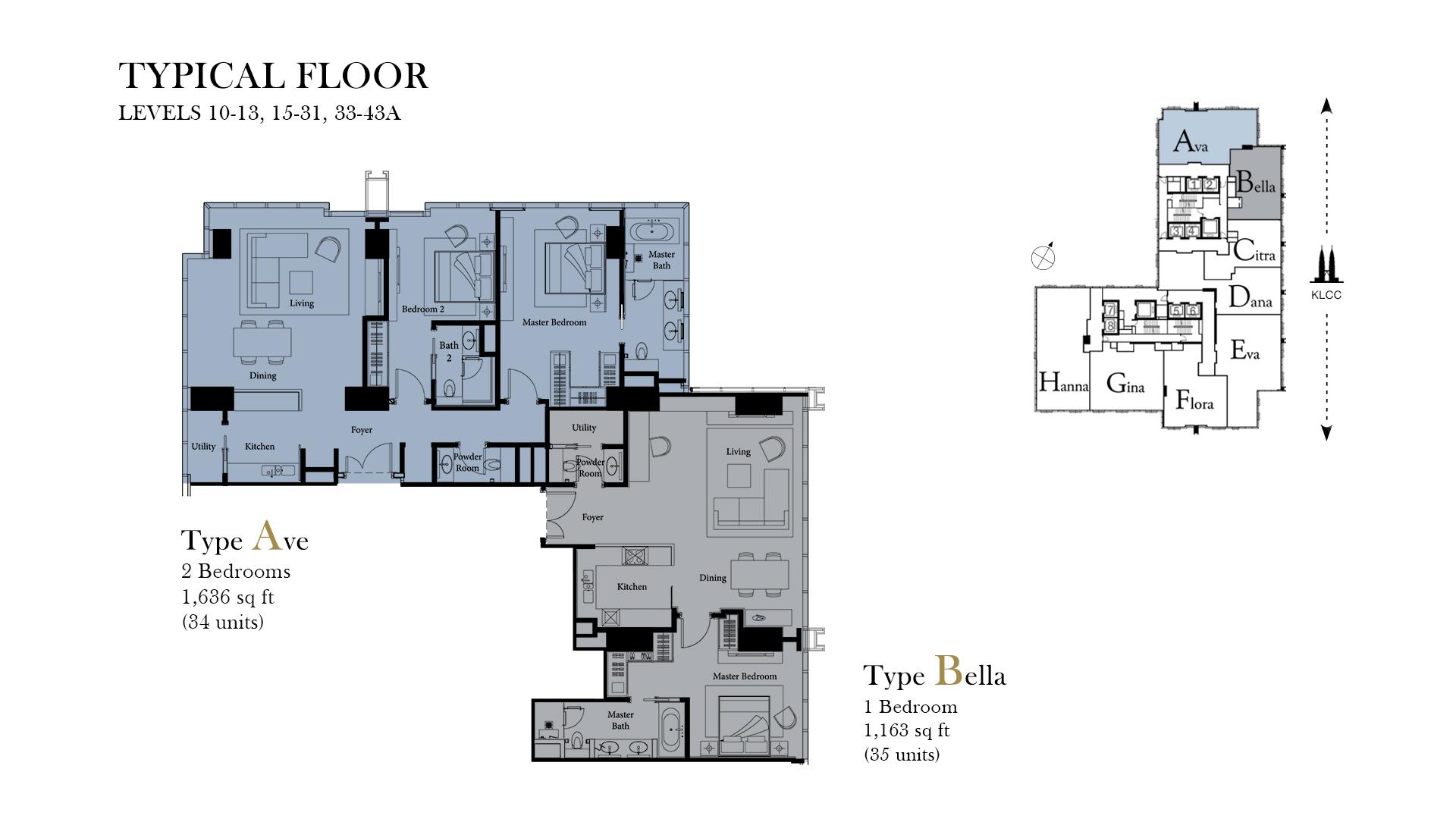 Ritz Carlton Residences Floor Plans Klcc Condominium New Launch For Sale