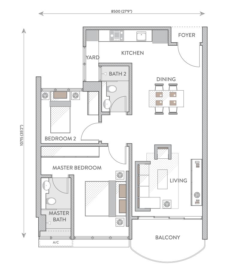 Senada Residence Floor Plans Klcc Condominium New Launch For Sale